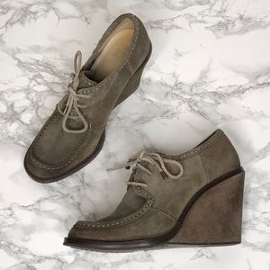 Frye Shoes - Frye Wedge Caroline Lace Low Booties Size 8.5